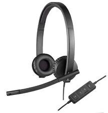 Auriculares negro Logitech diadema para ordenadores