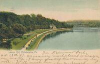 PHILADELPHIA PA – Lemon Hill Rotograph Postcard - 1907