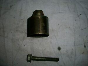 VW Audi timing belt idler pulley and bolt 038109244J