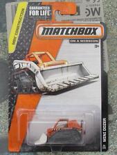 "Matchbox 2015 # 027/120 2015 Mini Dozer MBX construcción Largo US ""28"" Tarjeta"