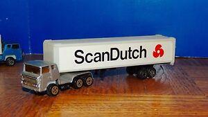 SIX (6) ''SCAN DUTCH''TRACTOR TRAILER (HO) 1:87 True Scale