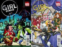 Girl Comics #1-2 (2010) Marvel Comics - 2 Comics