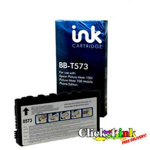 x1 Blue Box  NON-GENUINE  T573 Cartridge  for Picturemate 100
