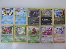 x10 Pokemon Cards  - Rare - Common - Uncommon - English - HP 80