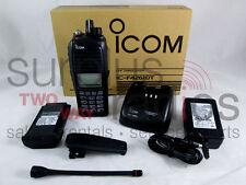 ICOM F4261DT 55 RC IDAS DIGITAL LTR RADIO 5W UHF 400-470MHZ 512CH DTMF HAM GPS