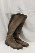 Browns B2 Leather Boots Made in Italy Women's Size 39 GOOD Used Condition 0597