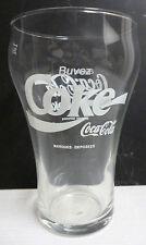 VERRE COCA COLA ,BUVEZ  COCA COLA  COKE , CC157 *