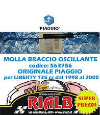 MOLLA BRACCIO OSCILLANTE 563756 ORIGINALE PIAGGIO per LIBERTY 125 1998 1999 2000