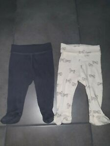 H&M Baby Leggings With Feet. 1-2 Months