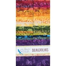 Beaujolias Strips by Island Batik