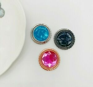 360 Rotating Cell Phone Finger Ring Stand Holder Grip Fashion Crystal Gemstone