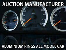 Mercedes C class W202 97-01 Polished Aluminium Gauge Rings Chrome Trim Surrounds