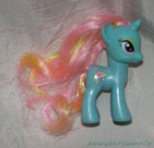 Rare 2011 My Little Pony FIM G4 Sky Blue Dewdrop Dazzle Unicorn Figure Umbrella