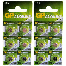 12 x GP 192 LR41 1.5V Batteries GP192 AG3 392 SR41