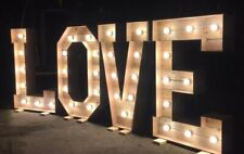 4ft Light Up LOVE Letters  ***for Hire***