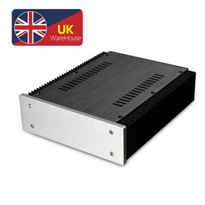 Metal Aluminum Chassis for DIY Amplifier Kit Preamp Enclosure DAC Cabinet Box