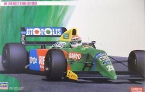 Hasegawa 1:24 Benetton B190 Formula1 Race Car LTD Edition Model Kit 20340