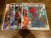 COMIC LOT - Inhumans Vs. X-Men #0-6