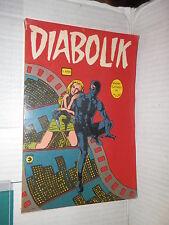 DIABOLIK Corno 1976 libro fumetto Super fumetti in film 2