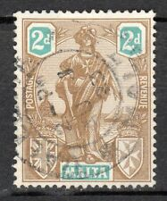 Malta - 1922 Definitive Melita - Mi. 87 VFU