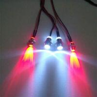 RC Elektrische Steuerung Modell LED Motorräder Scheinwerfer Nebel Licht Zubehör