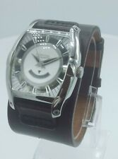 Fossil FS4193 Aut-o-matic men's watch brown leather strap FS-4193 analog 5 ATM
