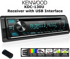 Kenwood KDC-130U CD-Receiver AUX Car Player Stereo with USB Interface