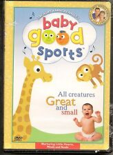 Baby Good Sports - All Creatures Great and Small (DVD, 2003) Brand New NIB