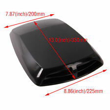 F998 Car Decorative Air Flow Intake Hood Scoop Vent Bonnet Cover Plastic Sticker