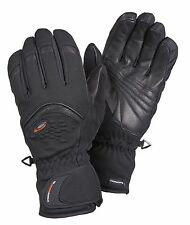 Ziener Women's Ski Gloves Softshell Gore Windstopper Koro Black 1212 New
