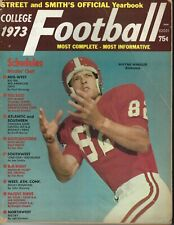 1973 Street & Smith's football magazine Wayne Wheeler, Alabama Crimson Tide FAIR
