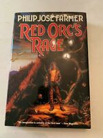 1991 Red Orc's Rage by Philip Jose Farmer 1st Edition Hardcover With Dust Jacket
