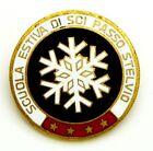 Spilla Scuola Estiva Di Sci Passo Stelvio (Labor Milano) Diametro cm 3,7