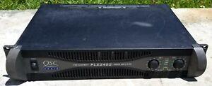USED QSC PLX3402 Professional Power Amplifier LightWeight 3400W Mono 4 Ohms 🔥