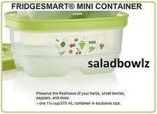 TUPPERWARE FRIDGESMART EXTRA SMALL MINI CONTAINER 375 mL 1.5 cup Wasabi fREEsHIP