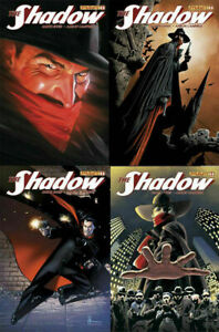 THE SHADOW #1 DYNAMITE COMICS -ALL 4 COVERS-ALEX ROSS,ENNIS $3 FLAT RATE SHIP