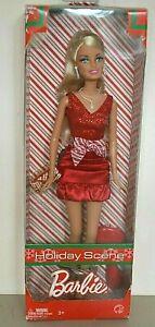 2008 Playline Collector HOLIDAY SCENE Blonde Barbie