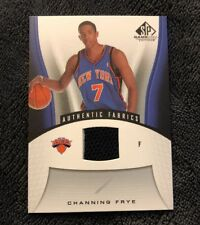 2006-07 SP Game Used Channing Frye Jersey #167