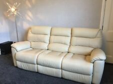 Lazy Boy La Z La-Z Manhattan Sofa Electric Reclining Real Leather SCS