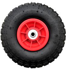 """10/"""" pneumatique 4.10//3.50-4 sack truck chariot brouette roue avec 20MM alésage"""