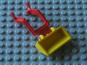 Godet LEGO VINTAGE Yellow Excavator Bucket ref 784 /Set 649 492 625 641 649 6603