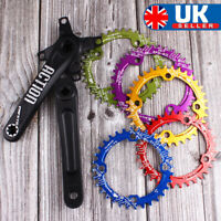 30-52T 104BCD Chainset 170mm Narrow Wide Chainring MTB Bike Fit Shimano KMC SRAM