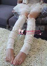 US SELLER Women Favorite Thigh High Lace Leg Warmer Sock Funky Winter Boot
