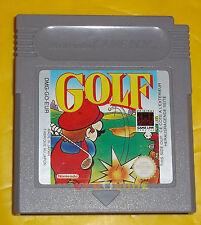 GOLF Game Boy GameBoy Versione Europea ••••• SOLO CARTUCCIA