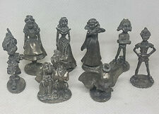 MONOPOLY 2001 Disney Edition REPLACEMENT PEWTER TOKENS MINI FIGURES