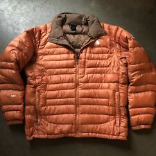 Men's The North Face TNF Flight Series 900 Goose Down Orange Puffer Jacket Sz L
