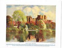 Ludlow Castle, Shropshire, England, Book Illustration (Print), c1920