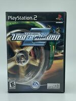 Need for Speed: Underground 2 (Sony PlayStation 2, 2004) Game & Case