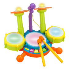 Baby infant Roll Drum Trumpet Musical Instruments Band Set Kit Kids Children Toy