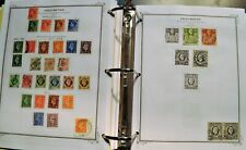 Great Britain Collection on Album Pages, 1881-2002, 1135 Used & 59 Mint, , Etc.